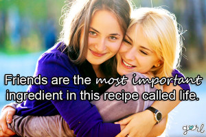Friendship Quotes For Teenage Girls