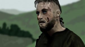 Ragnar Lothbrok from Vikings by JollyFlogger