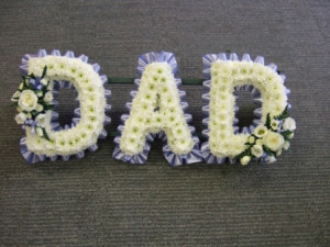 Dad Tribute Cornflower Blue