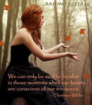 Thornton Wilder #Quote