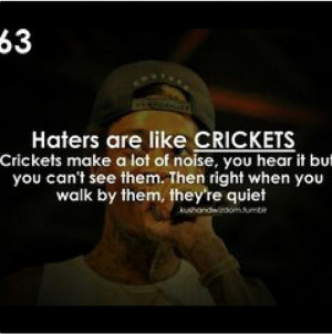 quotes about haters and hoes