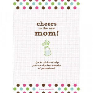 ... New Mom!/Cheers to the New Dad! would be a great gift for new parents