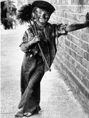 Dangerous: Child chimney sweeps often had to crawl through holes only ...