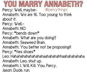 in collection: Funny Percy and Annabeth quotes