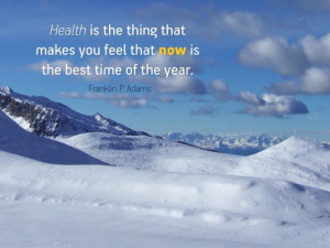 Inspirational Quote On Health