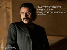 Al Swearengen - Deadwood TV Series