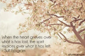 When The Heart Grieves Over What Is Has Lost, The Spirit Rejoices Over ...