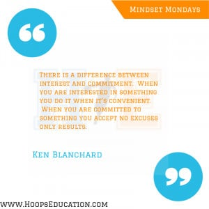 Interest Vs. Commitment quote from Ken Blanchard