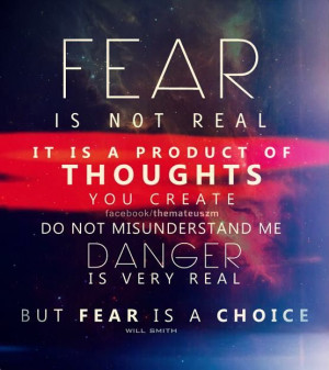 QUOTE: Fear