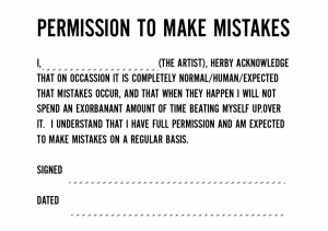Mistake Quotes About Love Forgiveness: Permission To Make Mistakes ...
