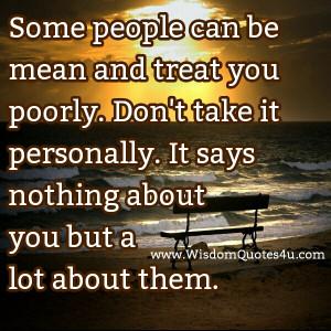 Mean Spirited People Quotes. QuotesGram
