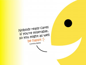 Wallpaper: Quotes-Be happy quotes wallpapers