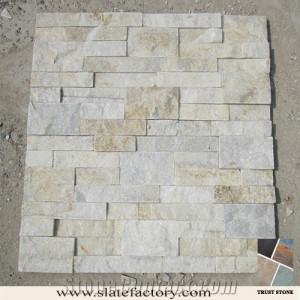white stone veneer