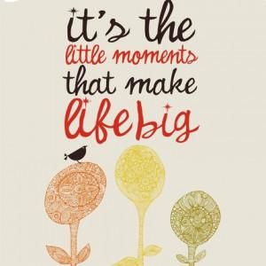 inspirational art_little moments