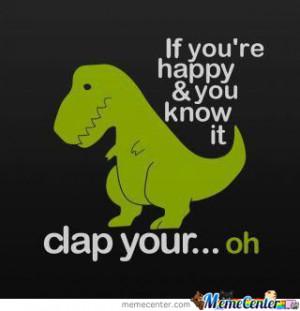 Poor Dinosaur:(