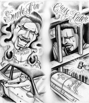 Ghetto Urban Tattoo Designs Tattoos on pinterest