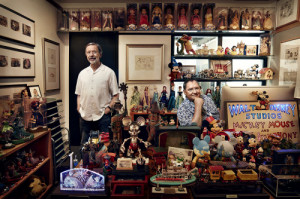 John Lasseter & Ed Catmull in Lasseter's office; picture from WIRED ...