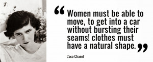 Coco Chanel Fashion & Style Quotes