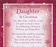 Missing My Daughter At Christmas