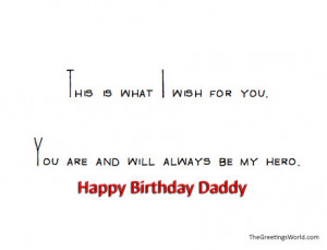 Happy Birthday Dad Quotes Sayings and Messages.