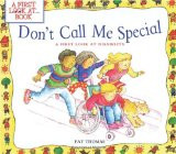 ... Call Me Special: A First Look at Disability (A First Look At...Series