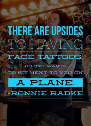 ronnie radke #falling in reverse