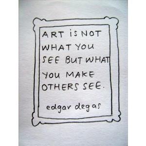 Edgar Degas's Quotes