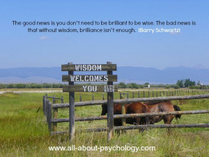 Quote by Professor of psychology Barry Schwartz. #greatquotes # ...
