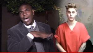 Keyshawn Johnson Justin Bieber