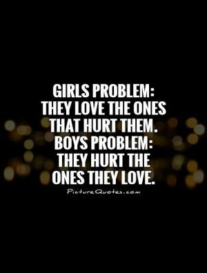 boys hurt girls quotes