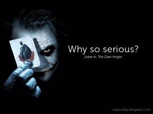 Joker the dark
