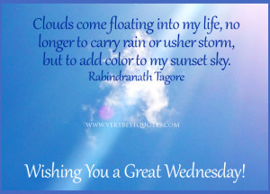 Inspirational good morning quotes, My life quotes, Clouds come ...