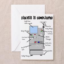 Dialysis Greeting Card for