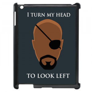 Avengers Nick Fury Funny Quotes iPad Case