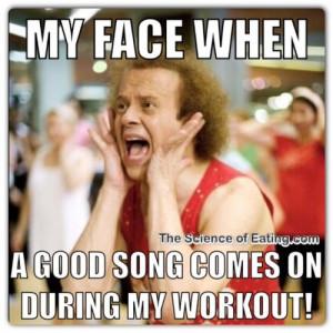 Motivation Meme Richard Simmons My Face When Meme