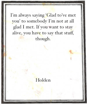 Catcher In The Rye Phony Quotes #catcher in the rye#j.d.