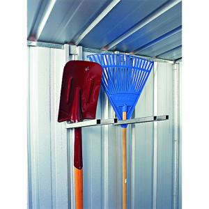 Picture shows 2 shovel racks