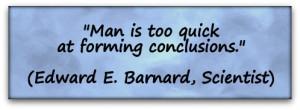 edward e barnard quotes