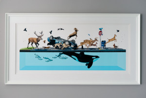 Stampede quot by Josh Keyes Pic provided by quot bluecow quot from ...