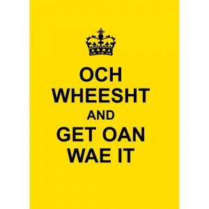 Scottish Quote bookspeed.com