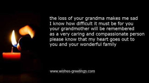 Funeral sayings grandmother