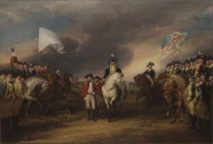 The Surrender of Lord Cornwallis at Yorktown October 19 1781, John ...