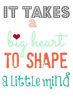 Quotes About Great Preschool Teachers ~ Preschool Quotes on Pinterest