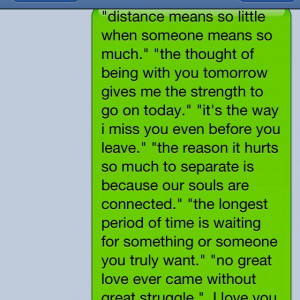 long distance relationship quotes.