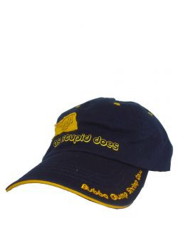 Forrest Gump Stupid Is as Stupid Does Navy Cap