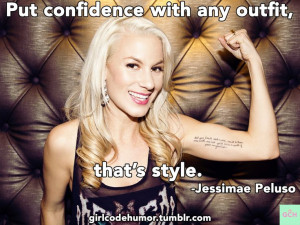 Jessimae Peluso explains how your confidence is as much a part of your ...