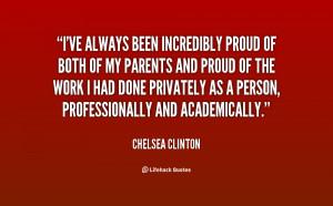 Chelsea Clinton Quotes