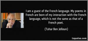 More Tahar Ben Jelloun Quotes