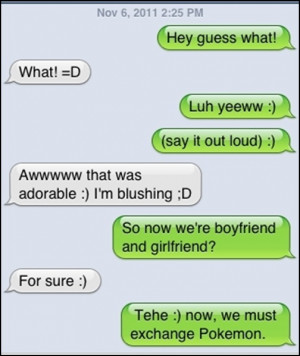 So Now We Are Boyfriend And Girlfriend xD