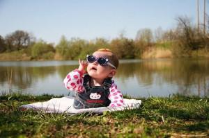 alone, baby, beach, dream, girl, little, love, summer, sun, sunglasses ...